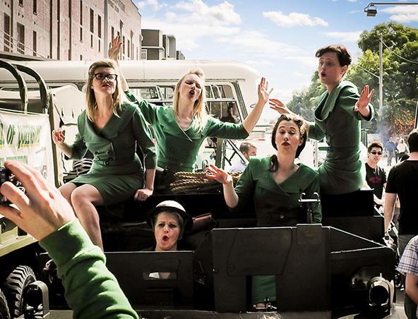 1920s Wartime Singing Group Brisbane - Singing Groups - Musicians