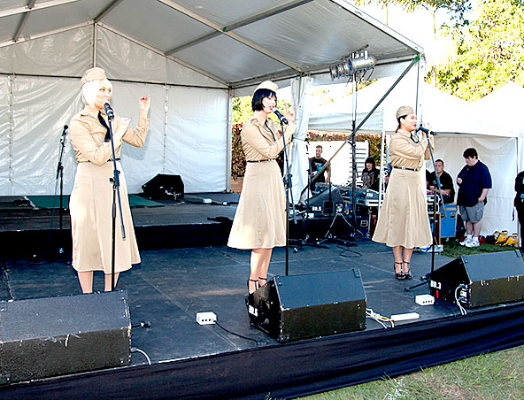 Andrew Sisters Tribute Brisbane - 1920s Show Singers