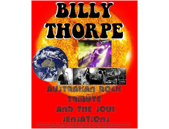 Billy Thorpe Tribute Band - Tribute Show - Musicians Brisbane