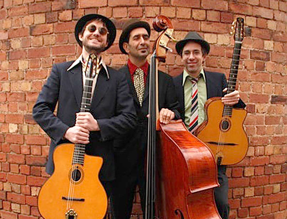 French Gypsy Jazz Band - Musicians Singers Entertainers - Wedding Band