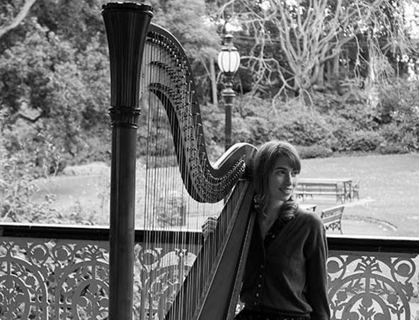 Melbourne Wedding Harpist A