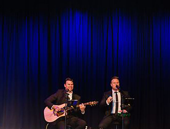 Something Borrowed Acoustic Duo Melbourne - Wedding Singers - Musicians