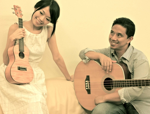 Ukulele And Guitar Duo