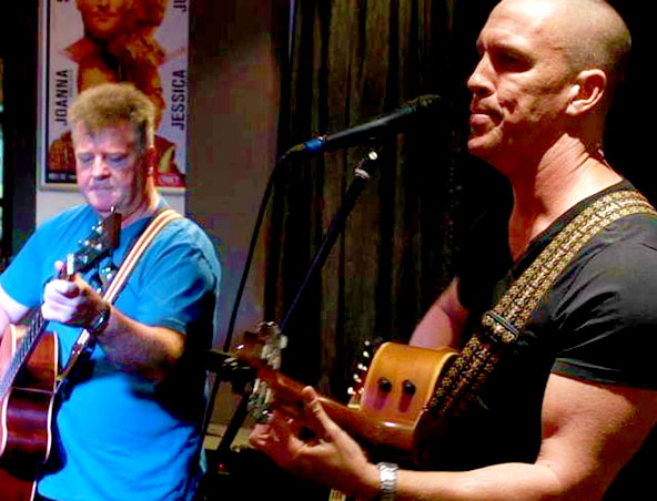 Acoustic Duo Brisbane - Jason and Geoff - Musicians