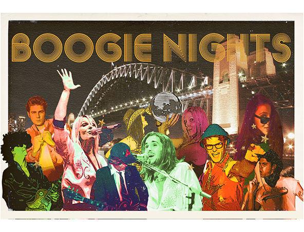Boogie Nights Retro Cover Band Sydney - Musicians