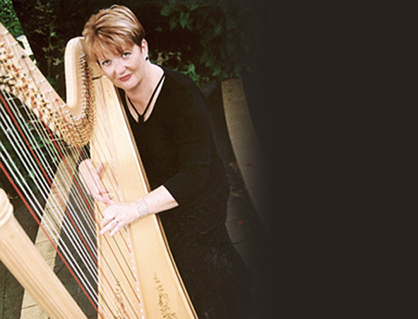 BRISBANE WEDDING HARPIST A