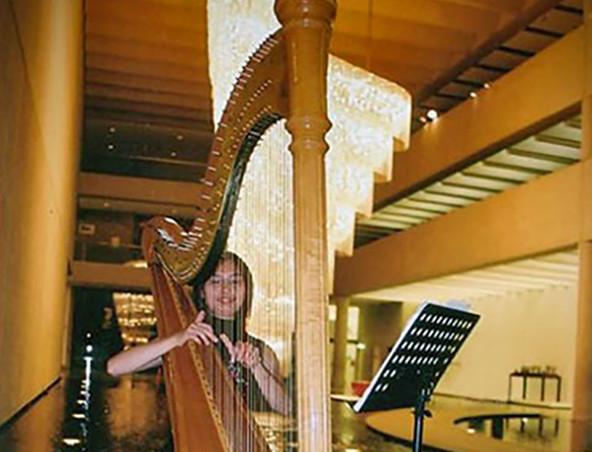 Brisbane Wedding Harpist C