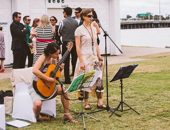Perth Classical Duo - Musicians Entertainers Wedding Bands