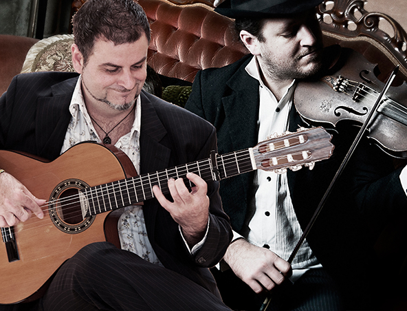 Gypsy Jazz Music Duo - Brisbane Duos - Jazz Band