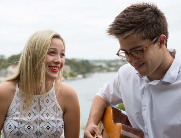Indigo Blue Acoustic Music Duo Sydney