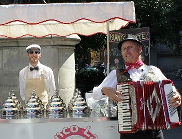 Melbourne Piano Accordion Player - Wedding Music - Singer