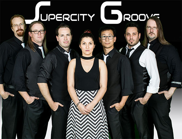 Supercity Groove Cover Band Sydney