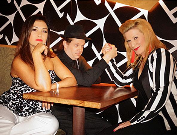 Zephyr acoustic music trio Brisbane - Singers Musicians
