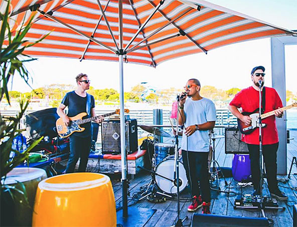 Uptown Groove Cover Band Perth - Wedding Bands Musicians - Singers