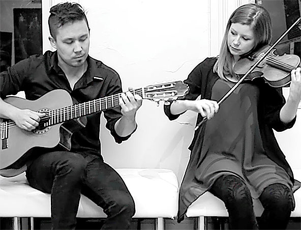 VIOLIN AND GUITAR DUO