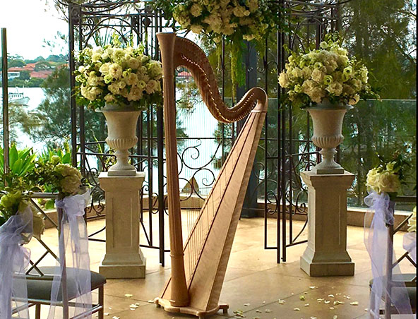Sydney Wedding Harpist - Musicians Entertainers