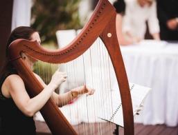 Brisbane Wedding Harpist B